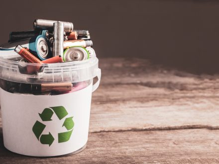 Recycled battery materials