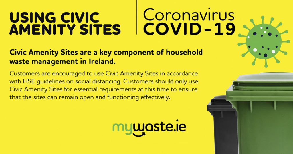 Covid19 Civic Amenity Notice